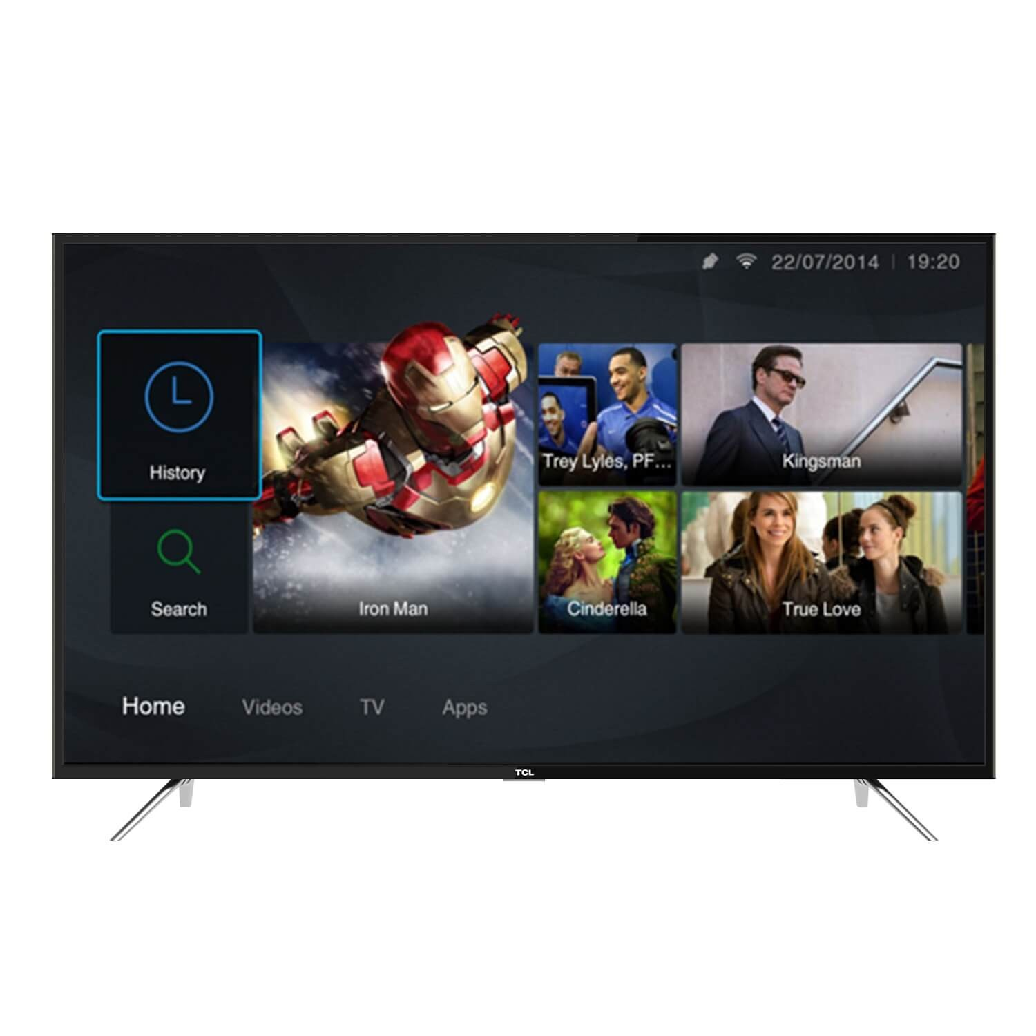 TCL 49 SMART DIGITAL CURVED TV – 49P3CUS