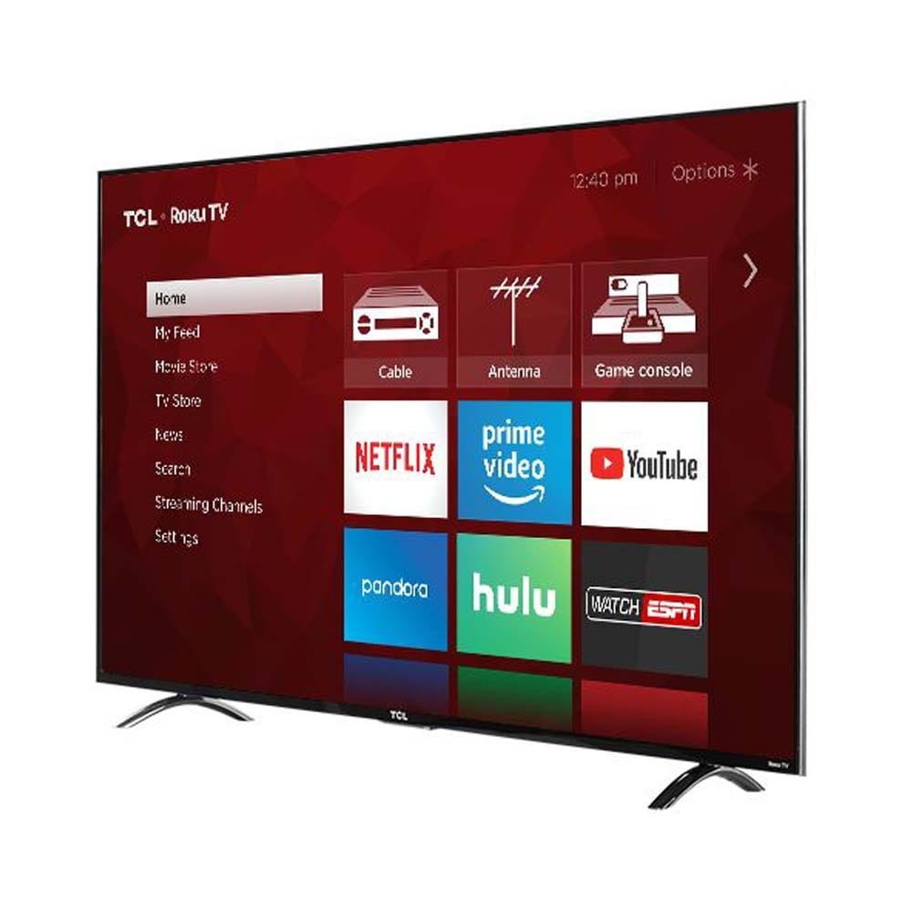 TCL 55 SMART DIGITAL UHD 4K ANDROID FLAT TV-55P601